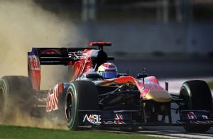 Sebastien Buemi im Toro Rosso 2010
