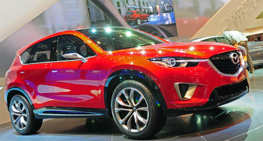 Der seriennahe Mazda Minagi wird 2012 als CX-5 auf den Markt kommen