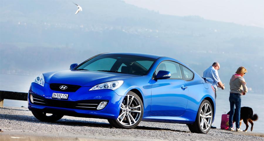 Der neue Hyundai Genesis besticht mit sportlichem Design