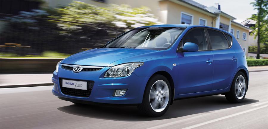 Mit modernen und attraktiven Fahrzeugen wie dem kompakten i30 ist Hyundai in der Schweiz auf der Erfolgsspur.