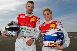 Teamkollege von Rahel Frey im Audi Team Phoenix wird der erfahrere Martin Tomzcik