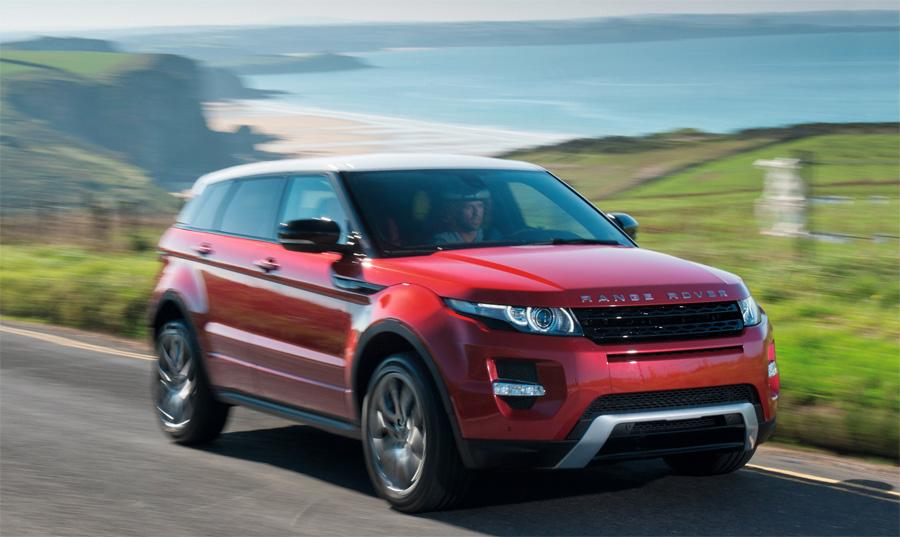 Der neue Range Rover Evoque ist ein rundum innovatives und progressives SUV.