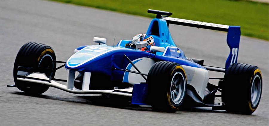 Zoel Amberg bestreitet seine erste GP3-Saison im englischen Atech