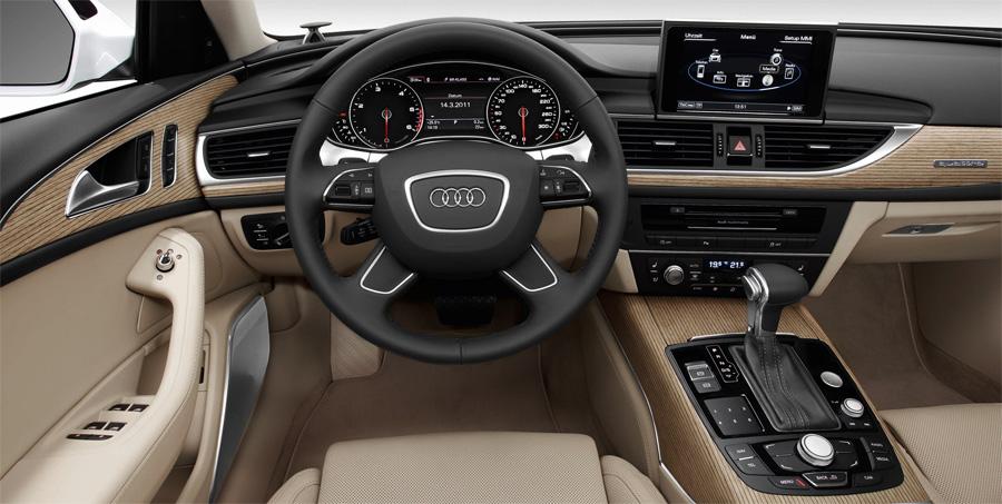 Auch im Interieur lässt der neue Audi A6 Avant kaum Wünsche offen.
