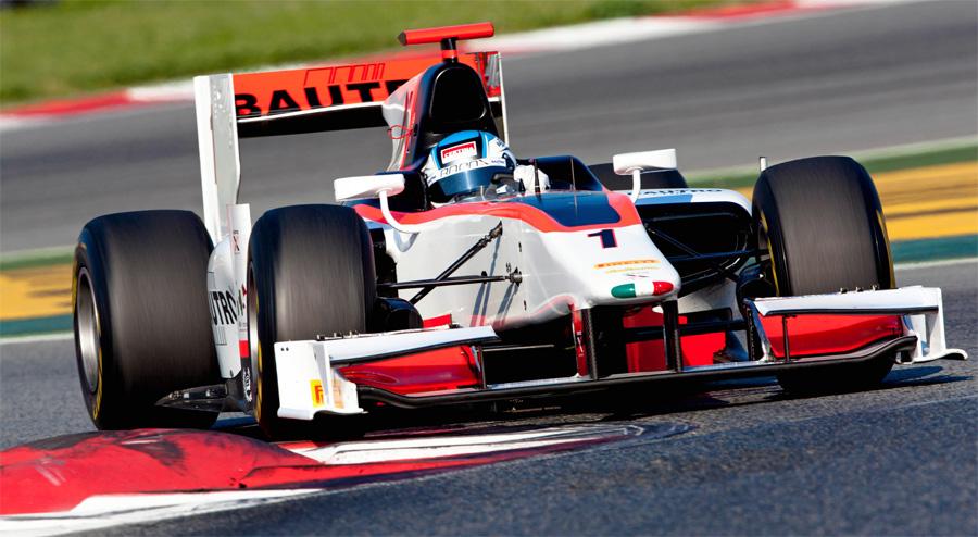 Fabio Leimer gehört im letztjährigen Team Rappax in der GP2 Series zum Favoritenkreis.