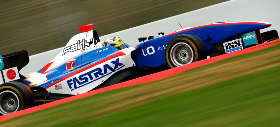 Nico Müller (Jenzer Motorsport) überzeugte bei den GP3-Testfahrten mit Bestzeiten.