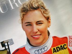 Rahel Frey, Audi-Werkspilotin in der DTM.