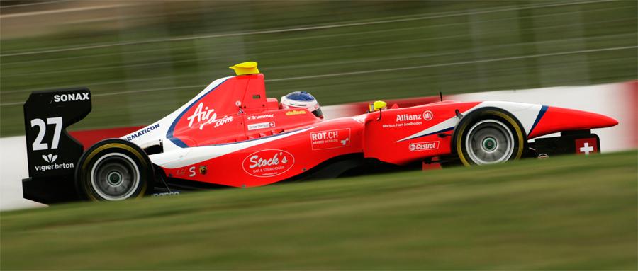 Simon Trummer wechselte für 2011 von Jenzer Motorsport zum Team Arden.