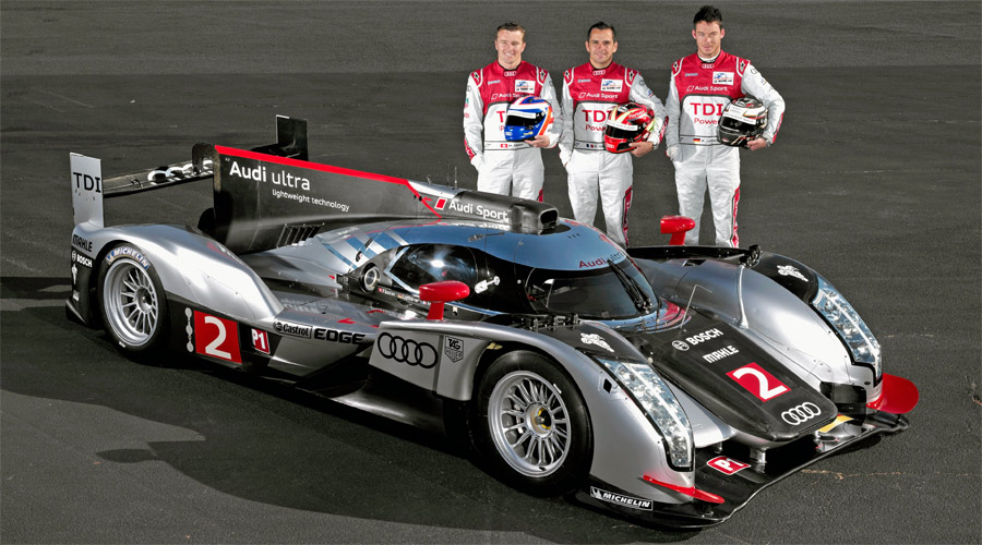Kann Audi mit dem neuen R18 TDI in Le Mans 2011 den Vorjahressieg wiederholen? Das Team mit Marcel Fässler gehört zum engsten Favoritenkreis.
