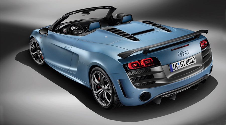 Der neue Audi R8 GT Spyder