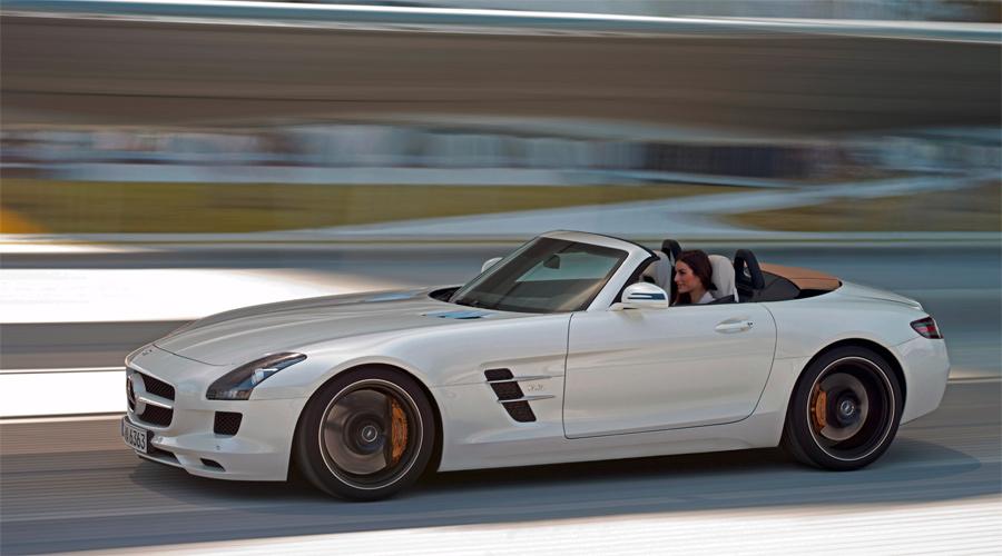 Der neue Mercedes SLS AMG Roadster ist geboren zum Klassiker.