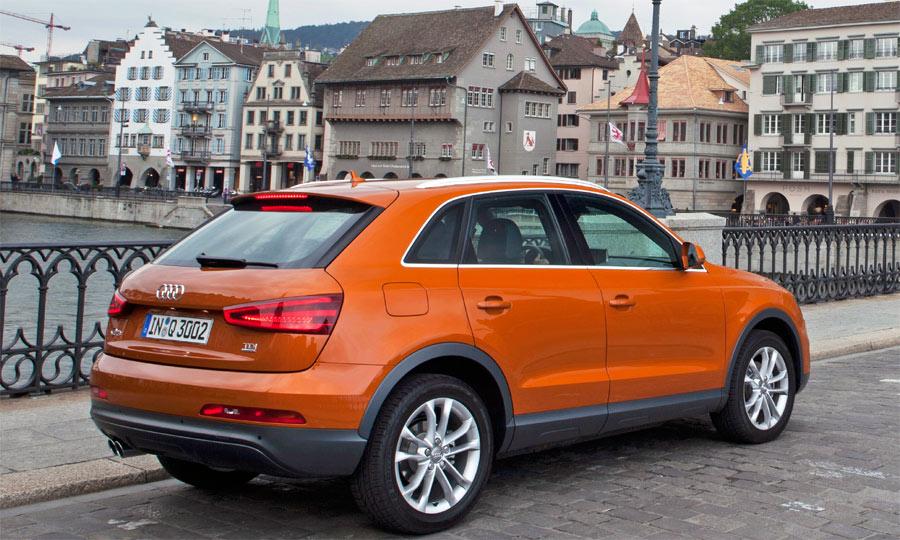 Der neue Audi Q3 macht bei der Presse-Fahrvorstellung in Zürich gute Figur.