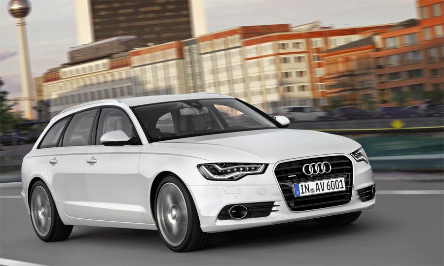 Der neue Audi A6 Avant macht optisch gute Figur und beinhaltet modernste Technik bis zum WLAN-Hotspot.