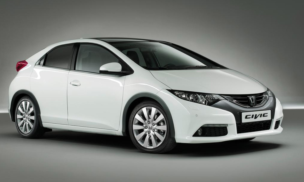 Auf dem ersten offiziellen Bild zeigt sich der Honda Civic chraktervoll und futuristisch.