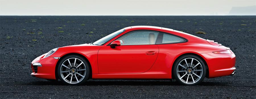 Länger, tiefer, breiter, grössere Räder: Der neue Porsche 911 wirkt und ist noch dynamischer als seine Vorgänger.