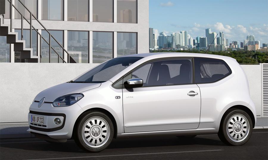 Der neue VW up! ist ein moderner zweitüriger City-Flitzer.