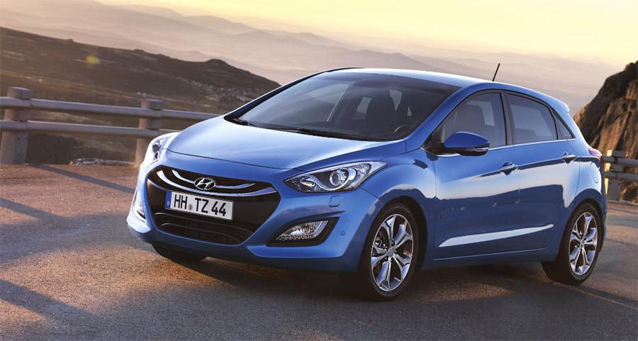 Der neue Hyundai i30 wird ab Frühling 2012 ein ernsthafter Konkurrent für den Klassenprimus VW Golf