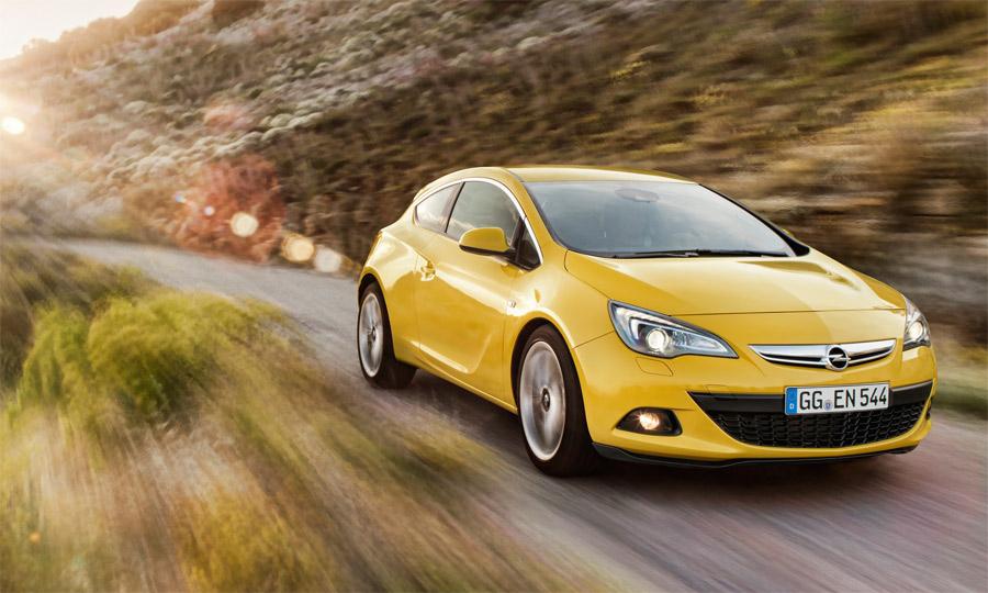 Der schnittige Opel GTC komplettiert die Astra-Baureihe und konkurrenziert den VW Golf GTI.