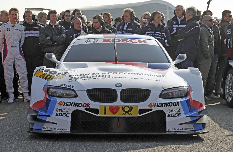 BMW setzt beim Einstieg in die DTM Saison 2012 auf die Anlehnung an den BMW M3.
