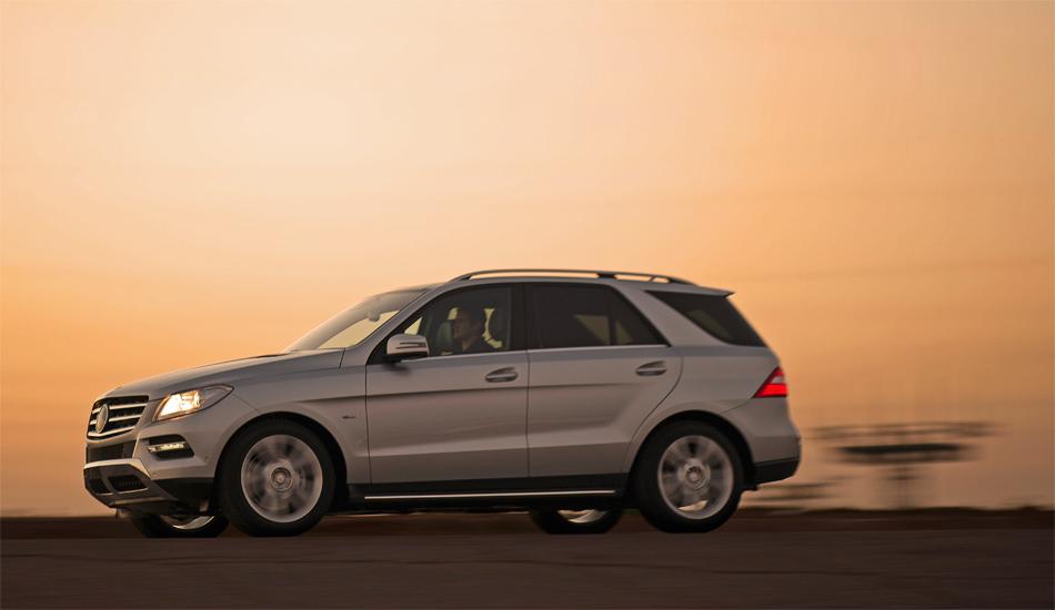 Die neue Mercedes M-Klasse wirkt kompakter, moderner und attraktiver als der Vorgänger.