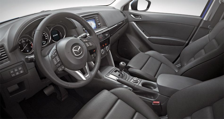 Das Interieur des neuen Mazda CX-5 ist zeitgemäss und funktionell.