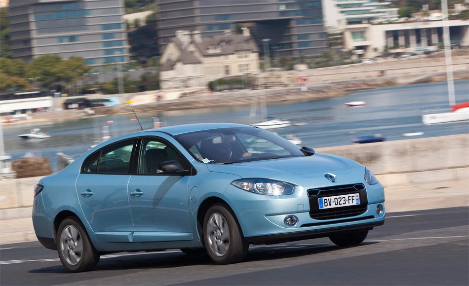 Der Renault Fluence Z.E. ist zwar der erste Elektro-PW von Renault. Mit seinem Stufenheck dürfte er sich bei uns aber kaum durchsetzen.