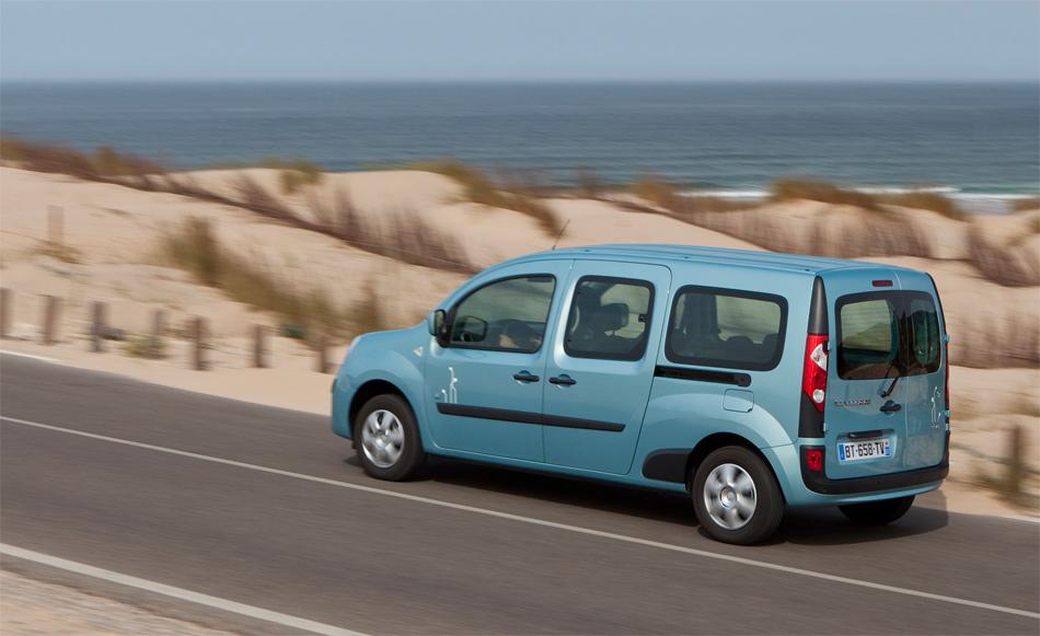 Der Renault Kangoo Z.E. ist ein sympatischer und sehr praktischer Familien- und Kleinbus.