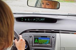 In den Displays lassen sich der Energiefluss und die erreichte Effizienz überwachen