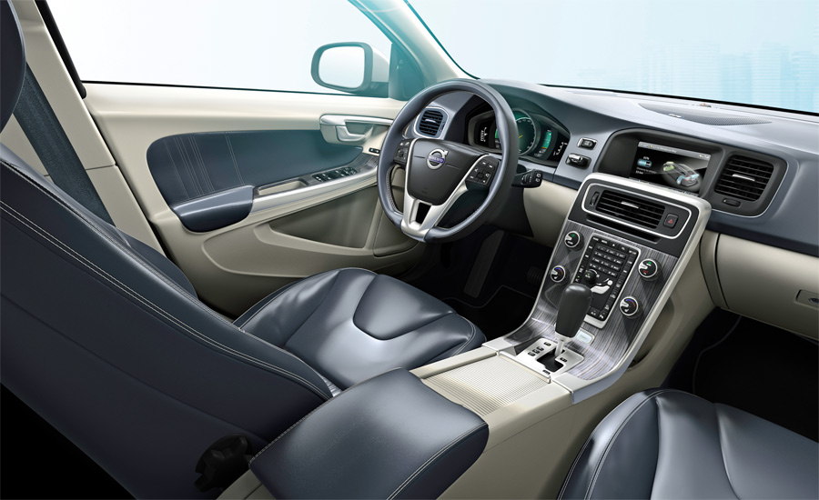 Cooles und sehr hochwertiges Design zeichnet auch den Volvo V60 Plug-In Hybrid aus.