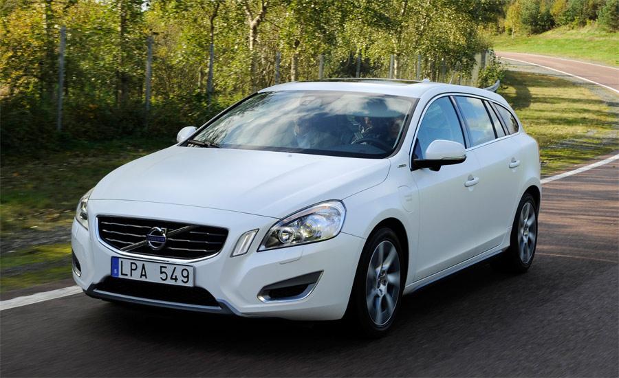 Der ab Ende 2012 erhältliche Volvo V60 Plug-In Hybrid soll mit einem Verbrauch gemäss Norm von 1,9 l/100 km auskommen.