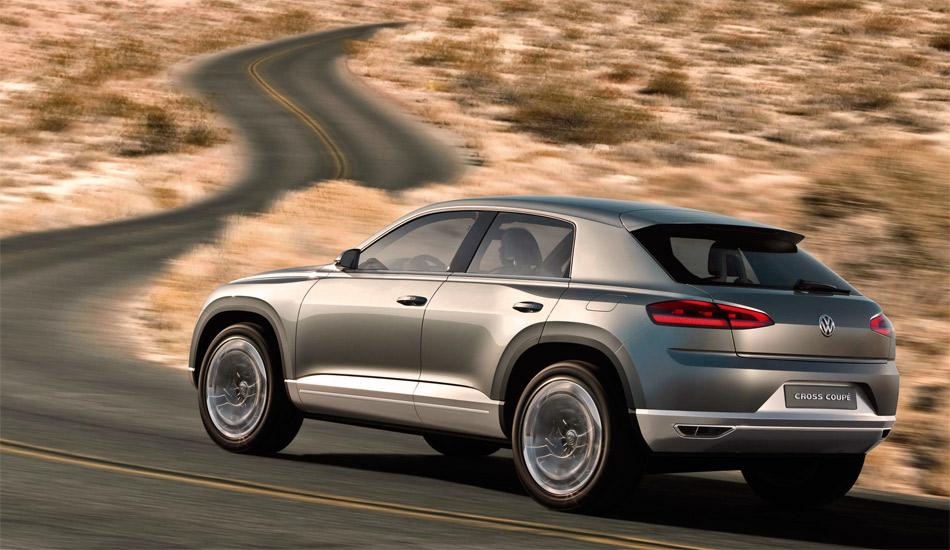 Die Studie VW Cross Coupé basiert auf einer neuen Querplattfom mit kurzen Überhängen und soll die neue Designsprache von VW vorwegnehmen.