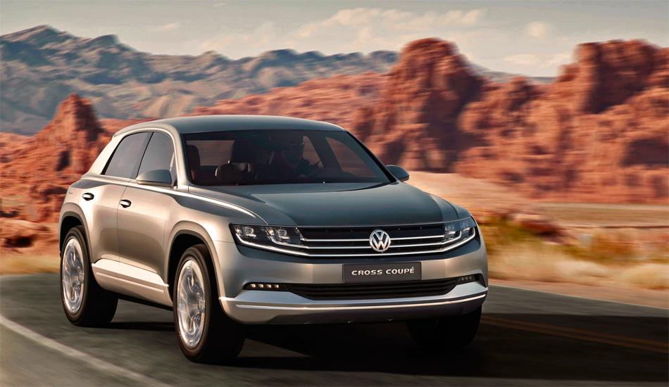 Ob der Studie VW Cross Coupé eine Serienversion folgt ist nicht entschieden, aber höchst wahrscheinlich.