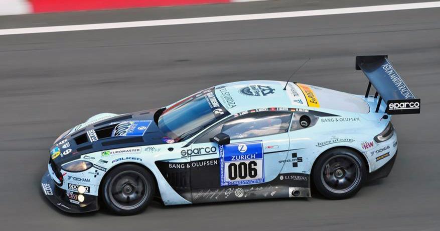 Das 24h-Rennen auf dem Nürburgring war ein Testlauf, bei dem der Aston Martin viel Potenzial zeigte.
