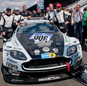 Aston Martin Vantage V12 GT3 mit Fredy Barth