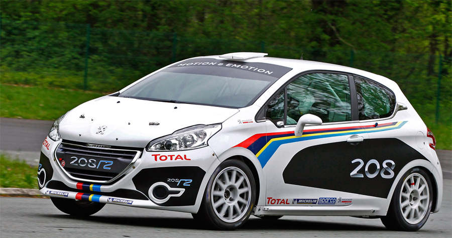 Der neue Peugeot 208 soll vorerst als R2 an die Erfolge seiner Vorgängermodelle im Rallyesport anknüpfen.