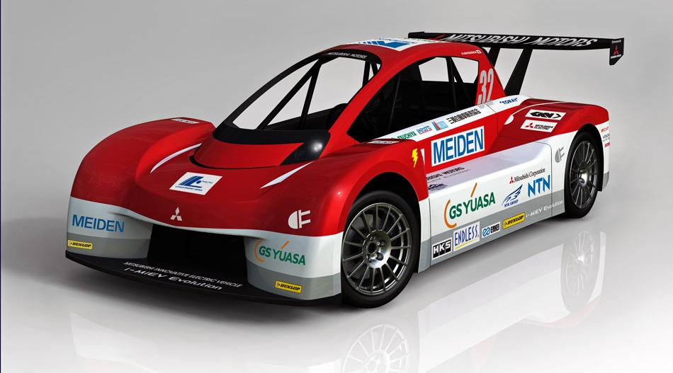 Mit dem Elektro-Renner i-MiEV Evolution will Mitsubishi das Pikes Peak Bergrennen bestreiten.