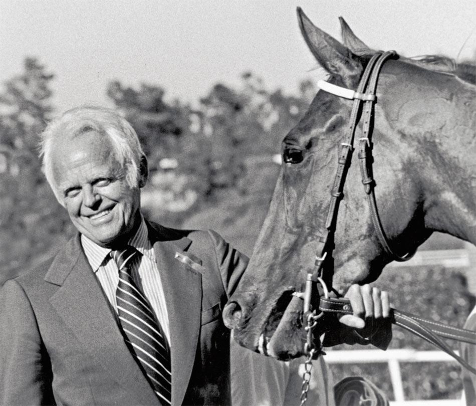 Walter Haefner war nicht nur ein Entrepreneur sondern auch ein erfolgreicher Pferdezüchter und Jockey.