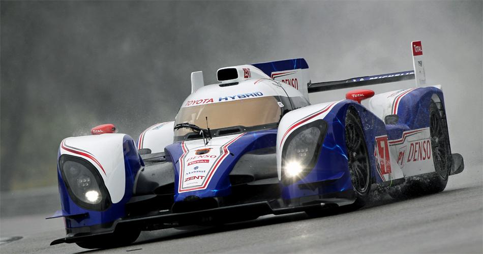 Der Toyota Hybrid mit Sébastien Buemi war überraschend schnell und steht auf Startplatz 3.