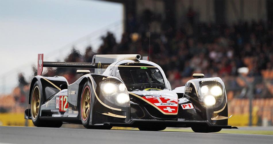 Neel Jani feierte im Lola-Toyota des Rebellion-Teams den 4. Gesamtrang als bester Nicht-Audi.