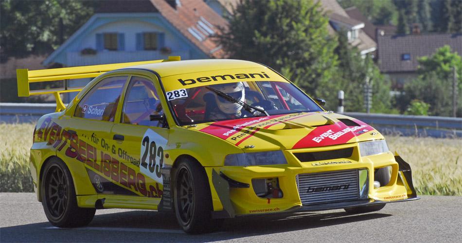 Das 600-PS-Monster des amtierenden Schweizer Meisters wird die Zuschauer auch in Reitnau begeistern.