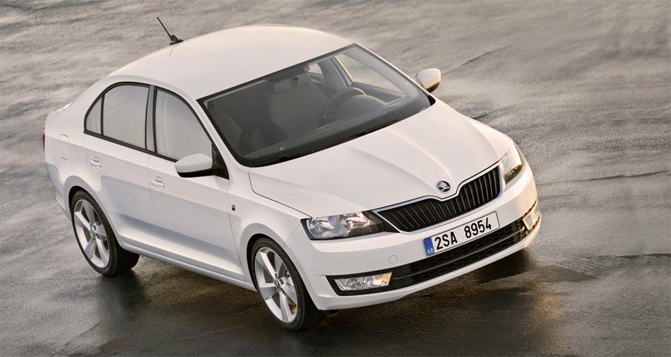 Der besonders geräumige Skoda Rapid soll gegen Ende 2012 mit neuer Marken-Designsprache das Modellangebot von Skoda ergänzen.