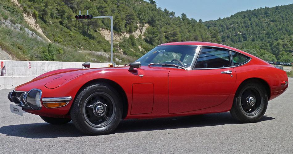 Der Toyota 2000 GT von 1967 sah hervorragend aus und spielte sogar in einem James Bond-Film mit.