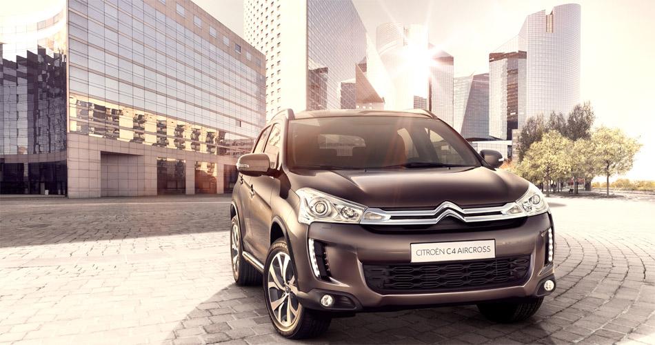 Unter dem trendigen Karosseriekleid des neuen Citroën C4 Aircross verbirgt sich die Technik des erfolgreichen Mitsubishi ASX.