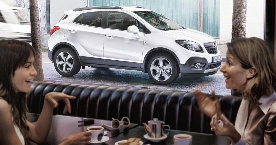 Der lifestylig aufgemachte Opel Mokka dürfte ein ideales SUV für den urbanen Grossstadt-Dschungel werden.