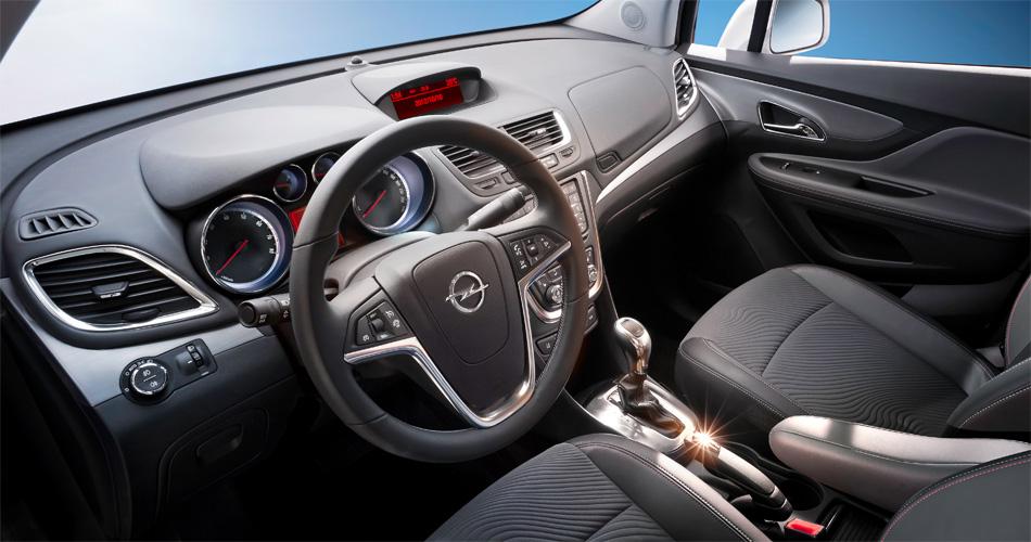 Das Interieur des neuen Opel Mokka präsentiert sich Modern und intuitiv bedienbar.