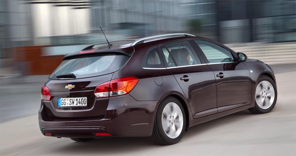 Der neue Chevrolet Cruze Station Wagon gefällt mit modernem Design.