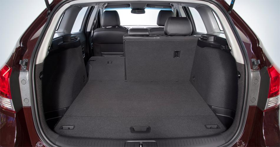 Der variable Kofferraum des Chevrolet Cruze Station Wagon fasst 485 bis 1485 Liter