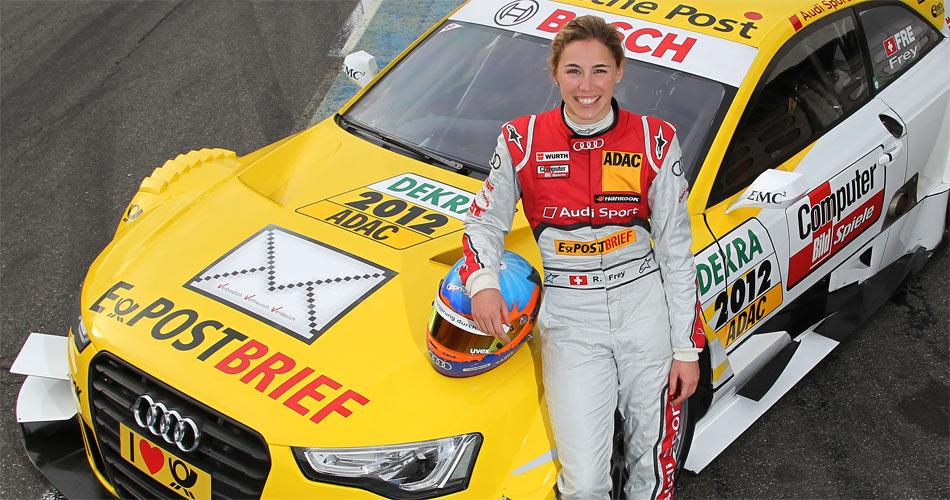 Das Qualifying 2 verpasste Audi-Werkspilotin Rahel Frey auf dem Nürburgring um 16 Tausendstel gegen Ex-Meister und Markenkollege Mathias Ekström.