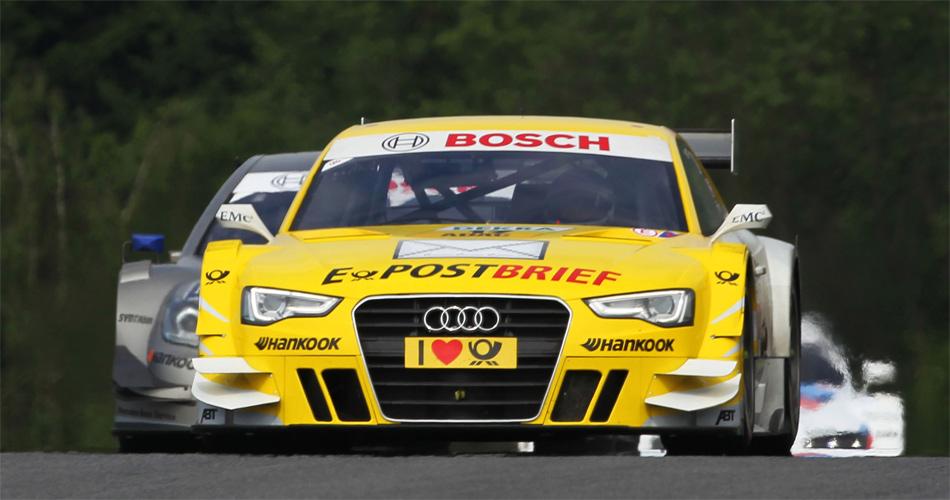 Nach Anfangsschwierigkeiten mit dem neuen Audi A5 DTM, fährt Rahel Frey inzwischen auf dem Niveau ihrer männlichen Konkurrenten.