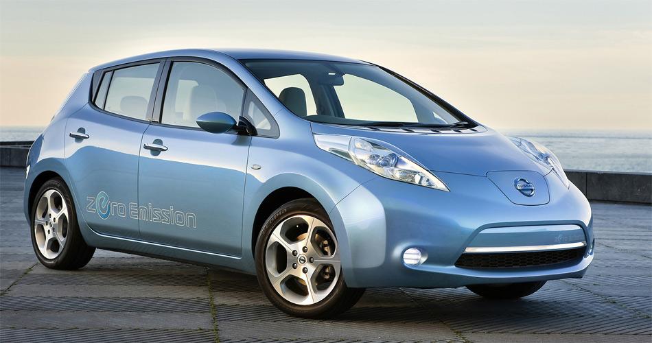 Der aktuelle Nissan Leaf schafft laut Werk eine Elektro-Reichweite von 160 km und kostet CHF 49'950.